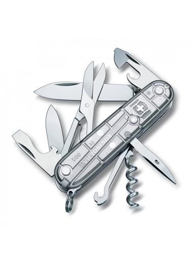 Victorinox Climber Silvertech Şeffaf Gümüş Blisterli Çakı Renkli